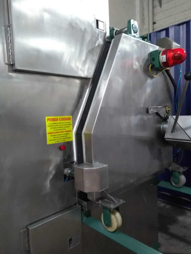 Cryotronics Rebarbador de Peças Industriais
