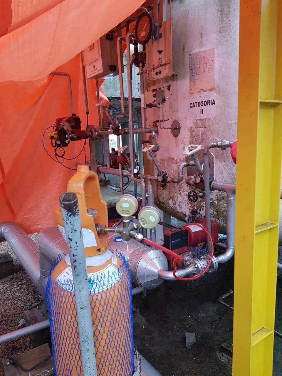 Instalação de Gases Criogenia