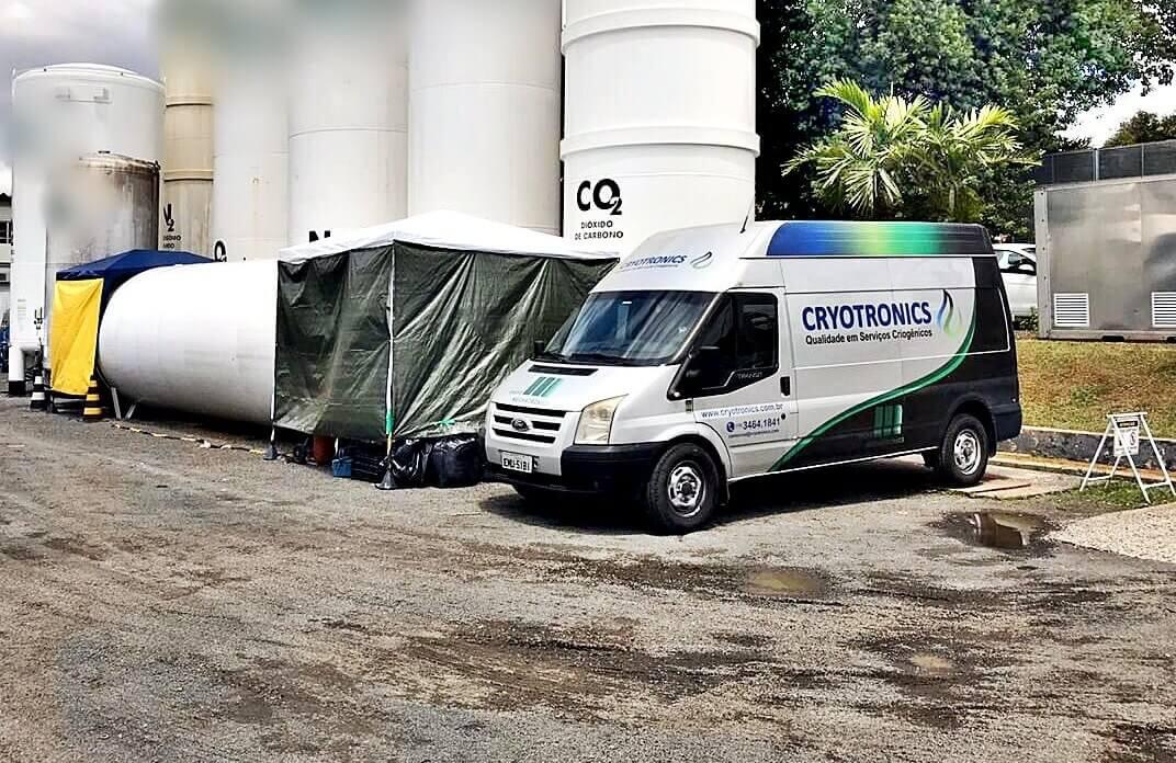 Serviço de Criogenia em Santos SP